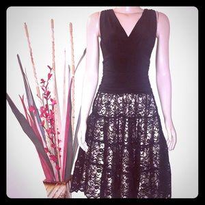 Black party S.L Fashion dress